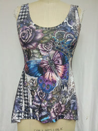 CROWN BUTTERFLY / TOP - DYE SUBLIMATION - MADE IN USA