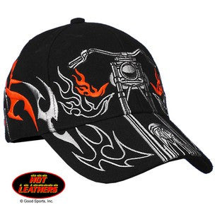 BALL CAP GREY / ORG TRIBAL BIKE