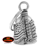 "BELL OLD GLORY - GUARDIAN BELL - PEWTER - 1""X1.5"""
