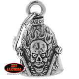 "BELL RIDE IT LIKE YOU STOLE IT - GUARDIAN BELL - PEWTER - 1""X1.5"""