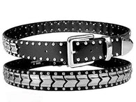 CHEVRON STUDS BELT