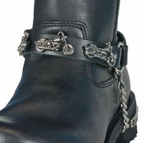 MOTORCYCLE BOOT CHAIN