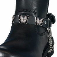 SPARKLE BUTTERFLY BOOT CHAIN