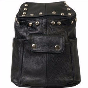 BACKPACK W ITH ROUND STUDS