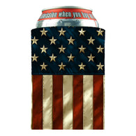CAN WRAP AMERICAN FLAG