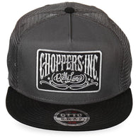BALL CAP - Official Choppers Inc Gray Logo Snapback