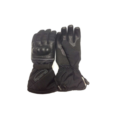 GLOVES COZY RIDE - WATER PROOF - 3M/LEATHER
