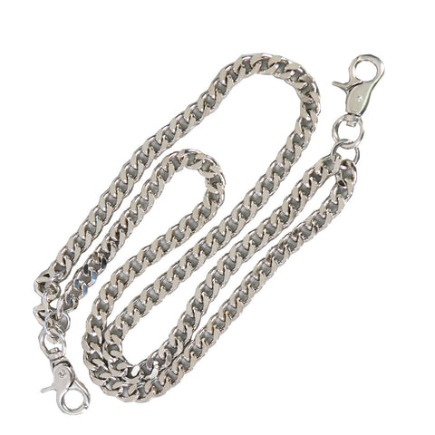 WALLET CHAIN DOUBLE CHAIN - CHROME