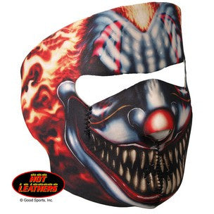 SMOKING CLOWN FACE MASK - NEOPRENE