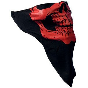 RED SKULL FACE WRAP