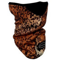 STRETCH MASK BROWN LEOPARD