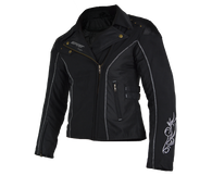 COUGAR Spirit Ladies Cordura Fitted Jacket - Slimline and Feminine