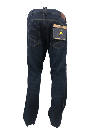 METALIZE GENESIS BIKER MEN HERITAGE COLLECTION - MOTORCYCLE STRETCH JEANS