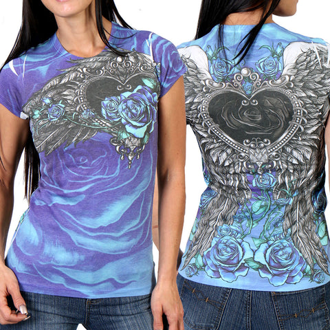 ANGEL ROSES - SUBLIMATION T-SHIRT