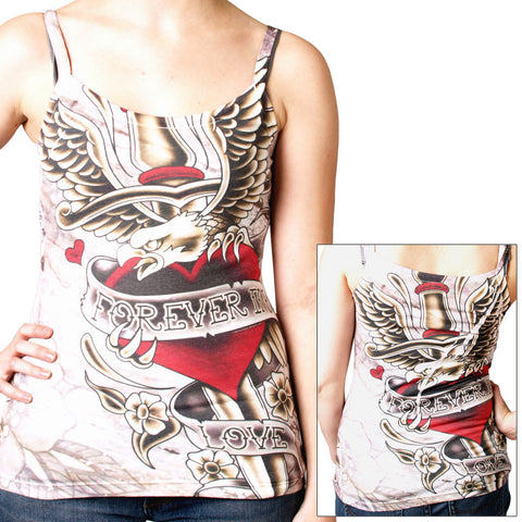TOP DAGGER HEART - SUBLIMATION LADY TOP TANK