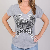 SHORT SLEEVE ASPHALT  ANGEL T SHIRT