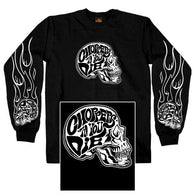 CHOPPERS TIL YOU DIE TWO SIDED LONG SLEEVE
