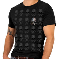 JP SKULL PATTERN - SHORTSLEEVE MEN T-SHIRTS