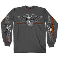 BROTHERHOOD EAGLE - LONGSLEEVE MEN SHIRT