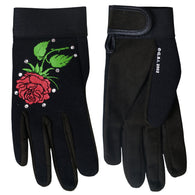 MECHANIC CRYSTAL LADY ROSE GLOVES