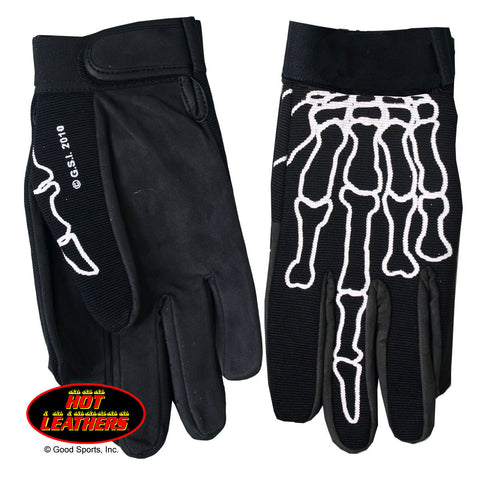 MECHANIC GLOVES SKELETON FINGER