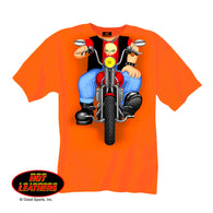 HEADLESS BOY BIKER- TODDLER T-SHIRT