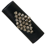 HAIR GLOVE LEATHER SPIKES CLUSTER