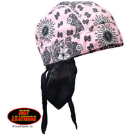 HEAD WEAR PINK PAISLEY