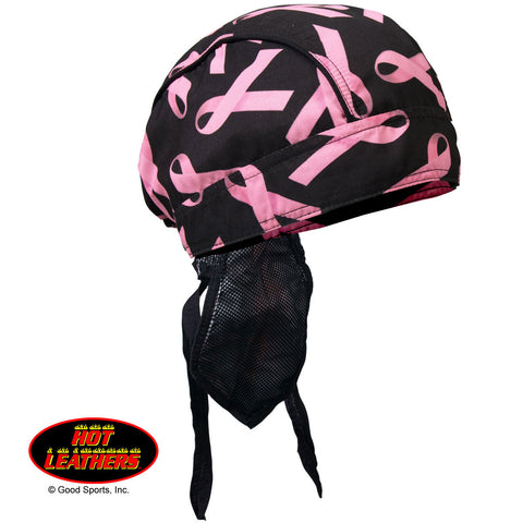 HEADWRAP PINK RIBBON