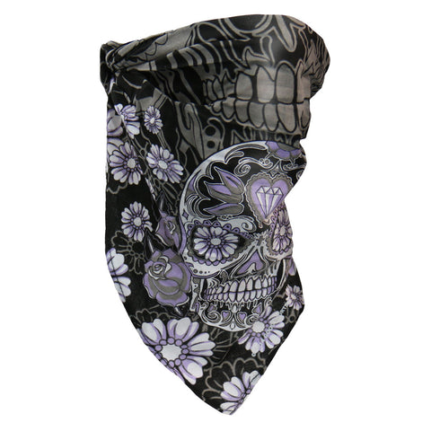 4IN1 COLORED SUGAR SKULL HEADWRAP - COTTON