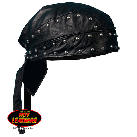 HEADWRAP LEATHER WITH STUDS