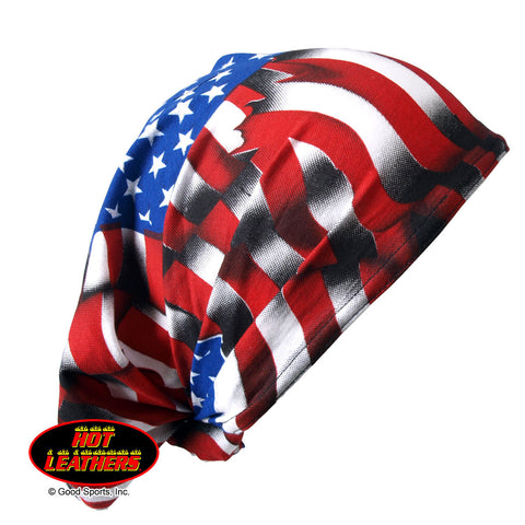 DOO-Z AMERICAN FLAG HAIR WRAP