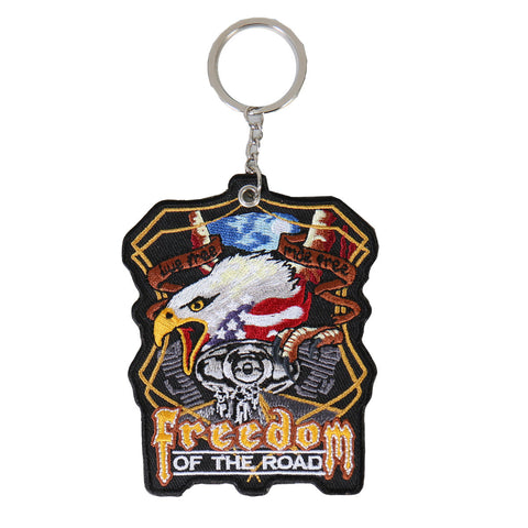 KEY CHAIN PATCH MIDNIGHT EAGLE