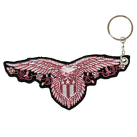 KEY CHAIN PATCH PINK EAGLE