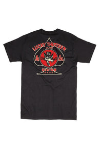 SS BP WOLFY - LUCKY 13 SINCE 1991 - SHORT-SLEEVE MEN T-SHIRT