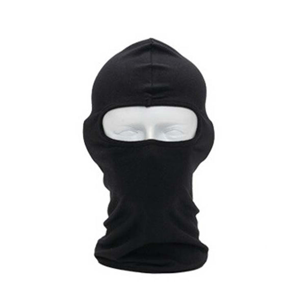 BLACK PLAIN COTTON BALACLAVA