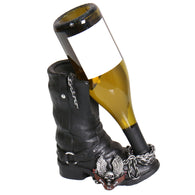 WINE BOTTLE HOLDER BOOT - CERAMIC