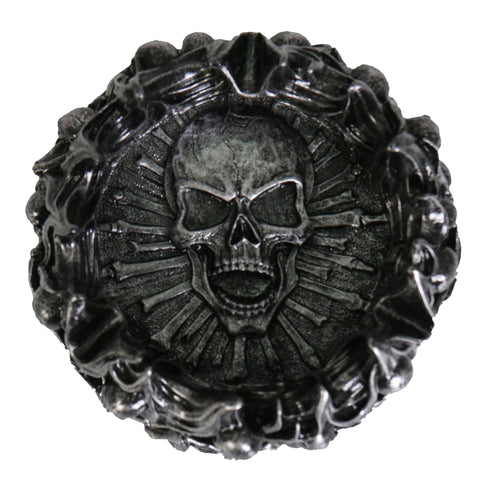 ASHTRAY SKULL PYRE - CERAMIC