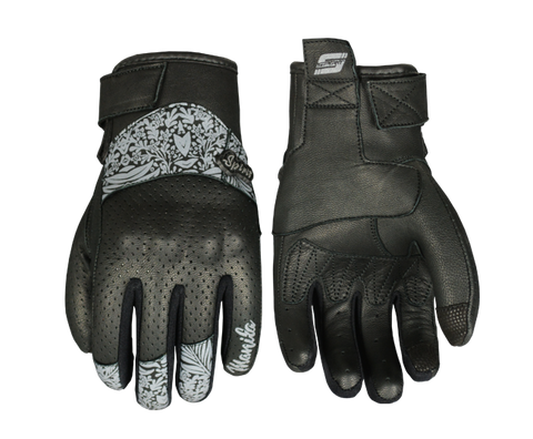 SPIRIT MANILA LADY GLOVES - LEATHER - BLACK
