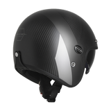 ORIGINE SIRIO FULL CARBON MATT GREY - OPEN FACE WITH INNER VISOR
