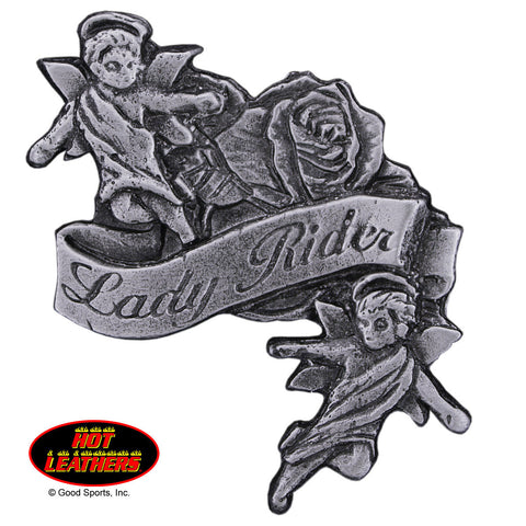 PIN LADY RIDER ANGELS