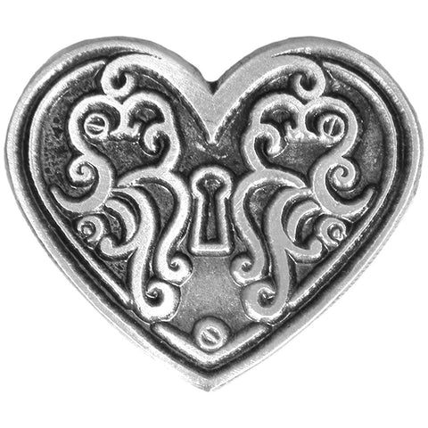 PIN HEART LOCK