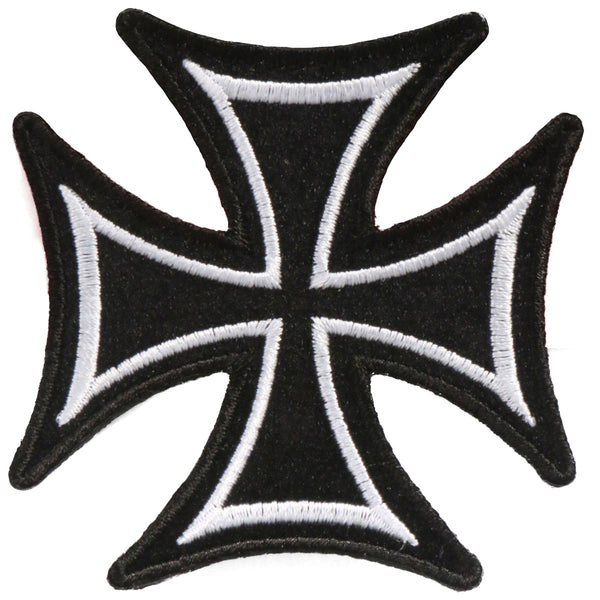PATCH IRON CROSS SKINNY 8""
