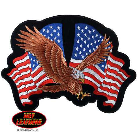 EAGLE TO FLAG PATCH