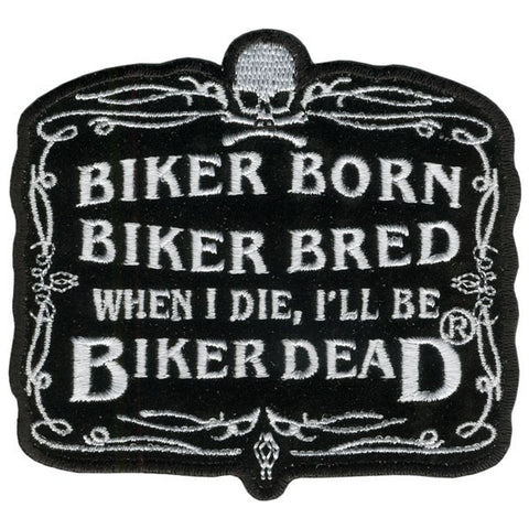 PATCH BIKER BORN