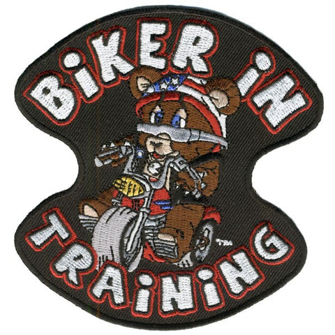 PATCH BIKER IN TRAINING