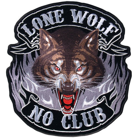 PATCH LONE WOLF FULL FACE
