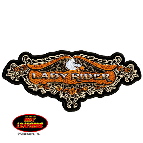 PATCH LACE EAGLE LADY RIDER