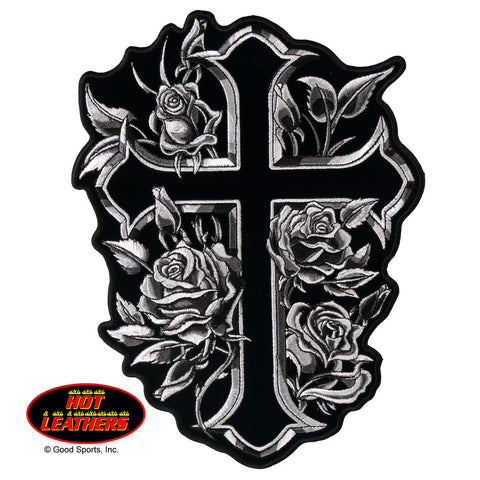 PATCH CROSS & ROSES