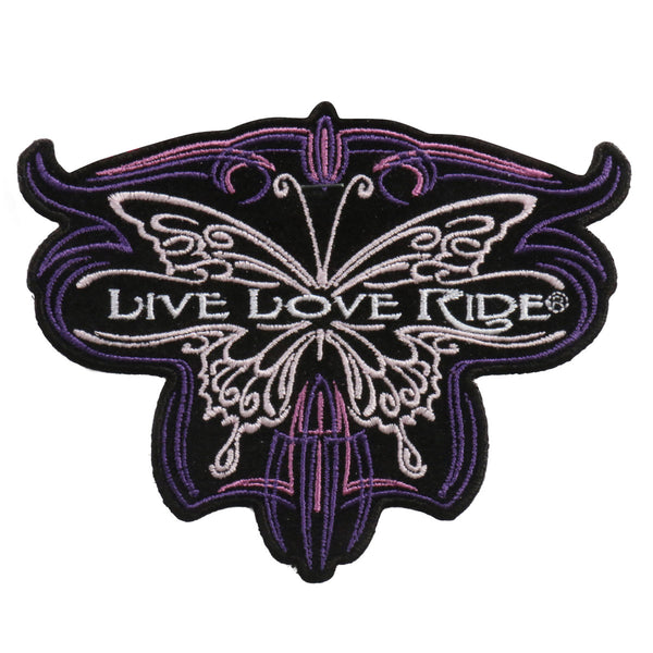 PATCH METALLIC BUTTERFLY 5""